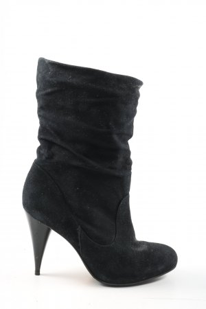 Buffalo London Botines slouch negro look casual