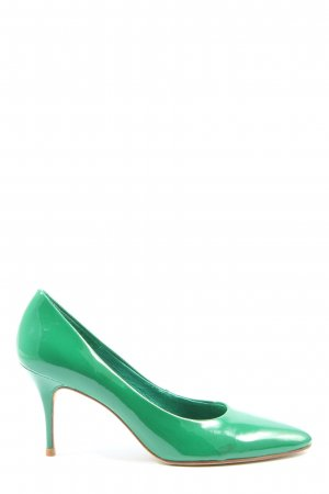 Buffalo London Stiletto vert style décontracté
