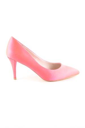 Buffalo London Spitz-Pumps pink Casual-Look
