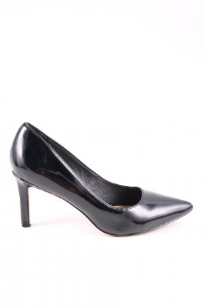 Buffalo London Spitz-Pumps schwarz Business-Look