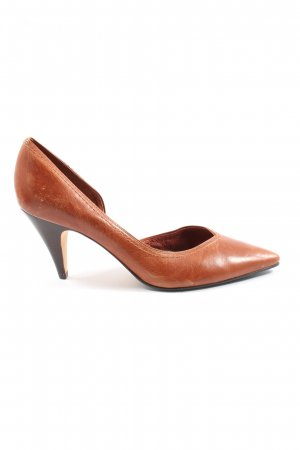 Buffalo London Spitz-Pumps braun Elegant