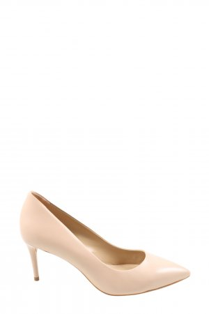 Buffalo London Spitz-Pumps creme Casual-Look