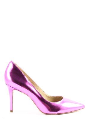 Buffalo London Décolleté a punta rosa elegante