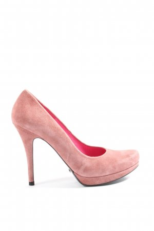 Buffalo London Pointed Toe Pumps pink casual look