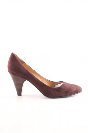 Buffalo London Spitz-Pumps rot Business-Look