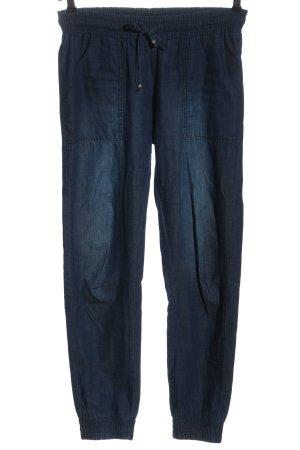 Buffalo London Stoffen broek blauw casual uitstraling