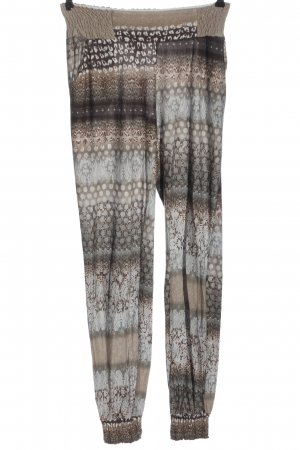Buffalo London Stoffen broek abstract patroon casual uitstraling