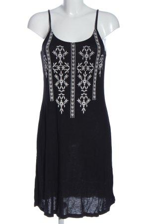 Buffalo London Pinafore dress black-white abstract pattern casual look