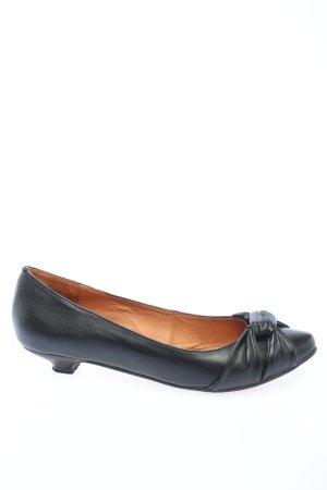 Buffalo London Loafers zwart casual uitstraling