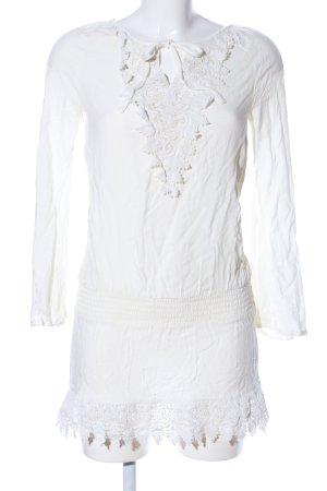 Buffalo London Blusa de túnica blanco look casual