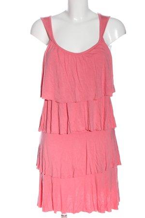 Buffalo London Flounce Dress pink casual look