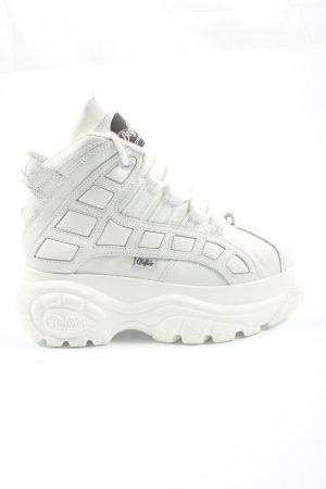Buffalo London Sneaker con zeppa bianco stile casual