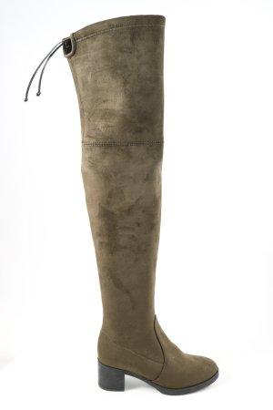 Buffalo London Wide Calf Boots brown casual look