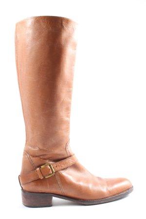 Buffalo London Wide Calf Boots light orange business style