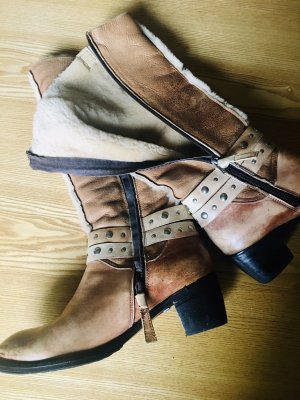 Buffalo London Western Boots nude