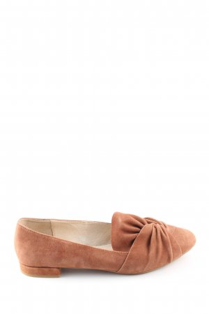 Buffalo Mary Jane Ballerinas bronze-colored business style
