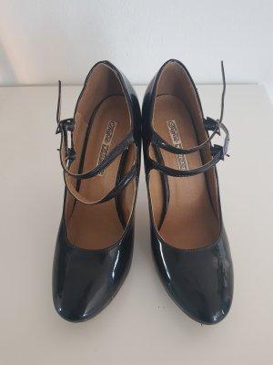 Buffalo London Mary Jane pumps zwart
