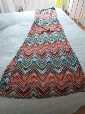 Buffalo London Robe longue multicolore viscose