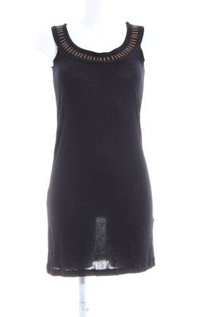 Buffalo Minikleid schwarz Casual-Look