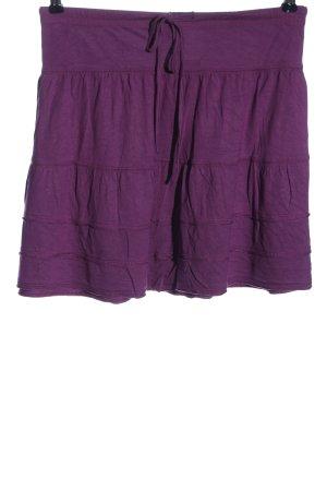 Buffalo Mini-jupe violet style décontracté