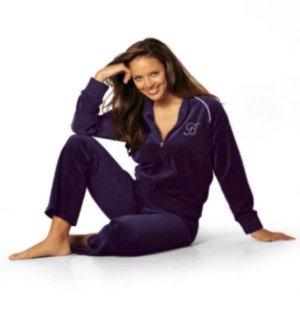Buffalo Nicki Hausanzug Schlafanzug Training Jacke Hose 40 42