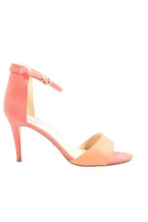 Buffalo Peeptoe Pumps pink-creme Elegant