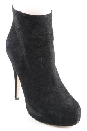 Buffalo Plateau-Stiefeletten schwarz Elegant
