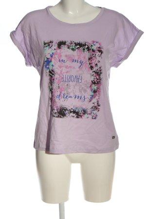 Buffalo Print-Shirt Motivdruck Casual-Look