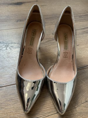 Buffalo Pumps in silber