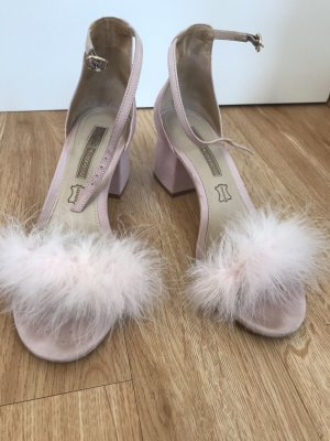 Buffalo Peep Toe Pumps light pink