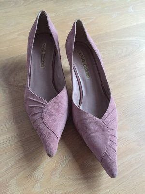 Buffalo Pointed Toe Pumps pink-dusky pink