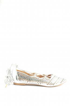 Buffalo Roman Sandals silver-colored elegant