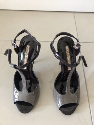 Buffalo Sandalo con cinturino nero-grigio