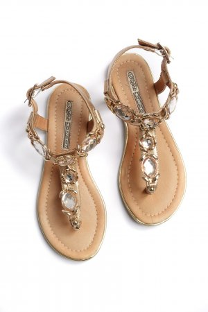 Buffalo Roman Sandals multicolored leather
