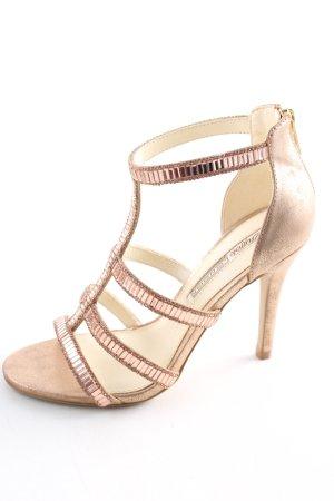 Buffalo High Heel Sandaletten nude Glanz-Optik