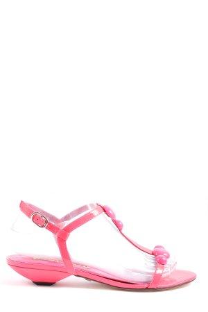 Buffalo Riemchen-Sandaletten pink Casual-Look
