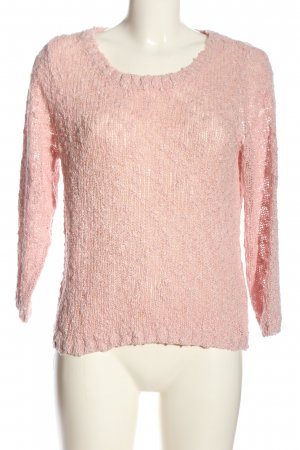 Buffalo Crewneck Sweater pink casual look
