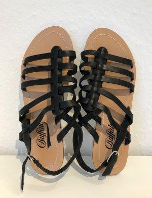 Buffalo Roman Sandals black