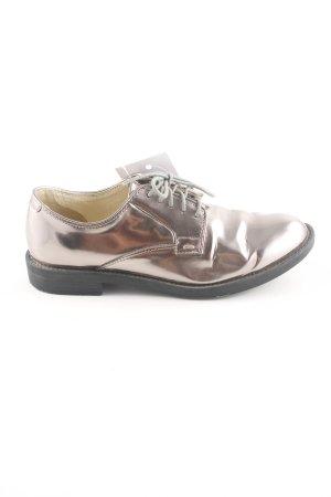 Buffalo Schnürschuhe bronzefarben Elegant
