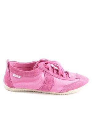 Buffalo Schnürsneaker pink Casual-Look