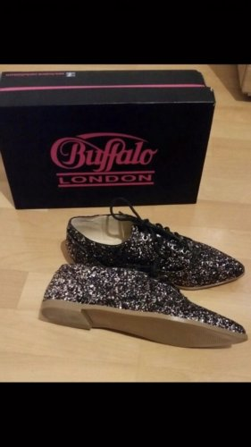 Buffalo Schuhe Glitzer NEU Derby