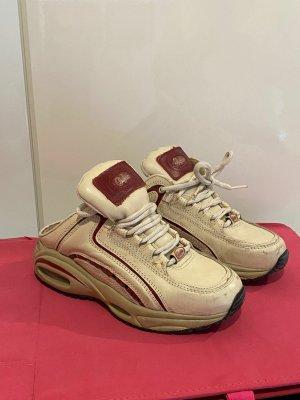 Buffalo Sneaker Gr.40 beige rot Retro-Schuhe