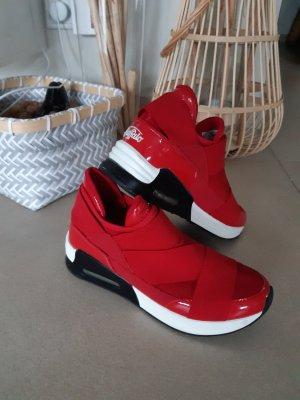 buffalo Sneaker Neopren rot