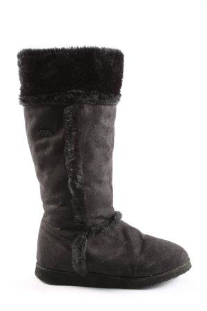 Buffalo Stivale da neve nero stile casual