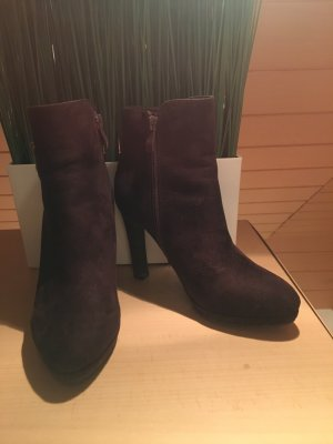 Buffalo High Heel Boots dark brown