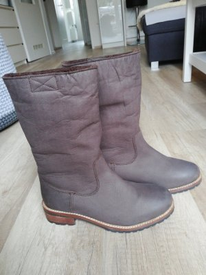 Buffalo Winter Boots brown leather