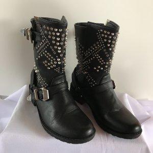 Buffalo Short Boots black
