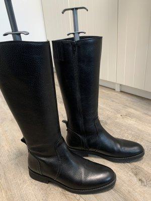 Buffalo-Stiefel schwarz Gr. 38 - flach