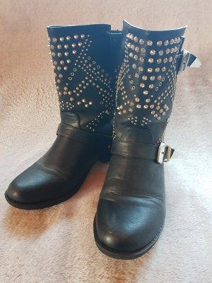 Buffalo Stiefeletten Boots Nieten