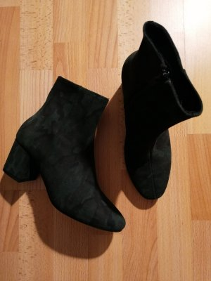 Buffalo Short Boots black-dark green